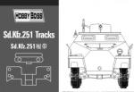 "81005 Траки для БТР ""Sd.Ktz. 251"" (Hobby Boss) 1/35"
