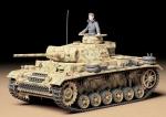 Склеиваемая пластиковая модель Нем.танк Pz.kpfw.III Ausf.L с пушкой KwK50L/60 1942 г., масштаб 1:35