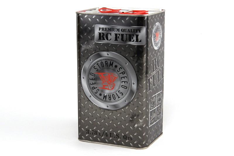 Топливо для радиоуправляемых авиамоделей Speed Storm Aero 0% нитрометана 20% масла 3,8 литра